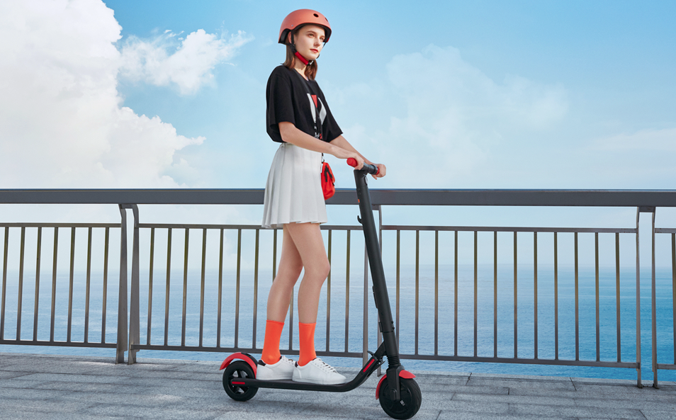 Segway Ninebot ES1L Electric Kick Scooter, Lightweight and Foldable