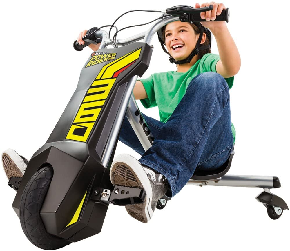 Razor Power Rider 360 Electric Tricycle.