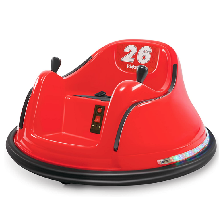 Electric Red Ride On Bumper Car