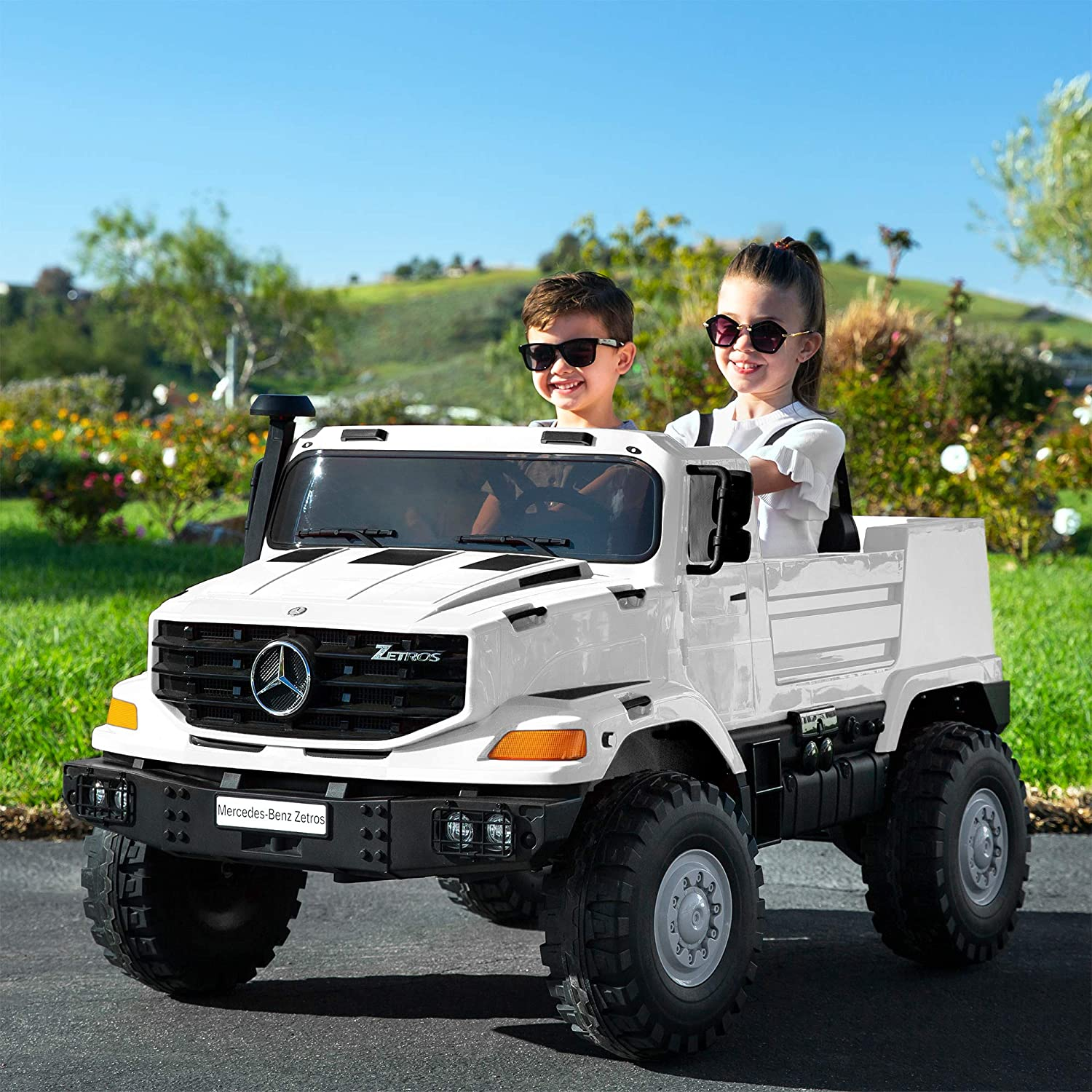 24v Kids Ride on Toy SUV Battery Operated Tr