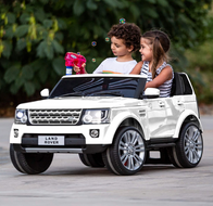 Licensed Land Rover Ride On Car Toy w/ Parent Remote Control