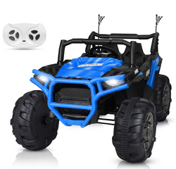 BAHOM 12V Kids Ride on Truck 2 Seater Electric Cars for Toddlers with Remote Control