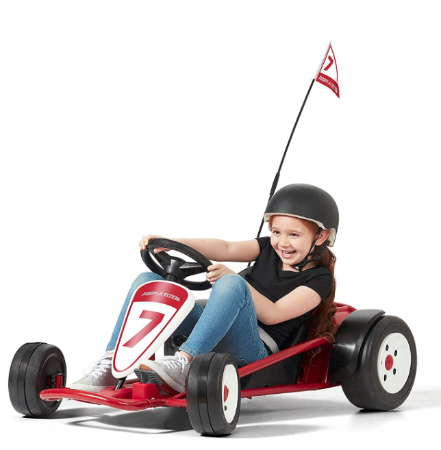 Radio Flyer Ultimate Go-Kart, 24 Volt Outdoor Ride On Toy