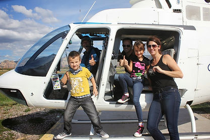 Family Helicopter Ride in Sedona Az
