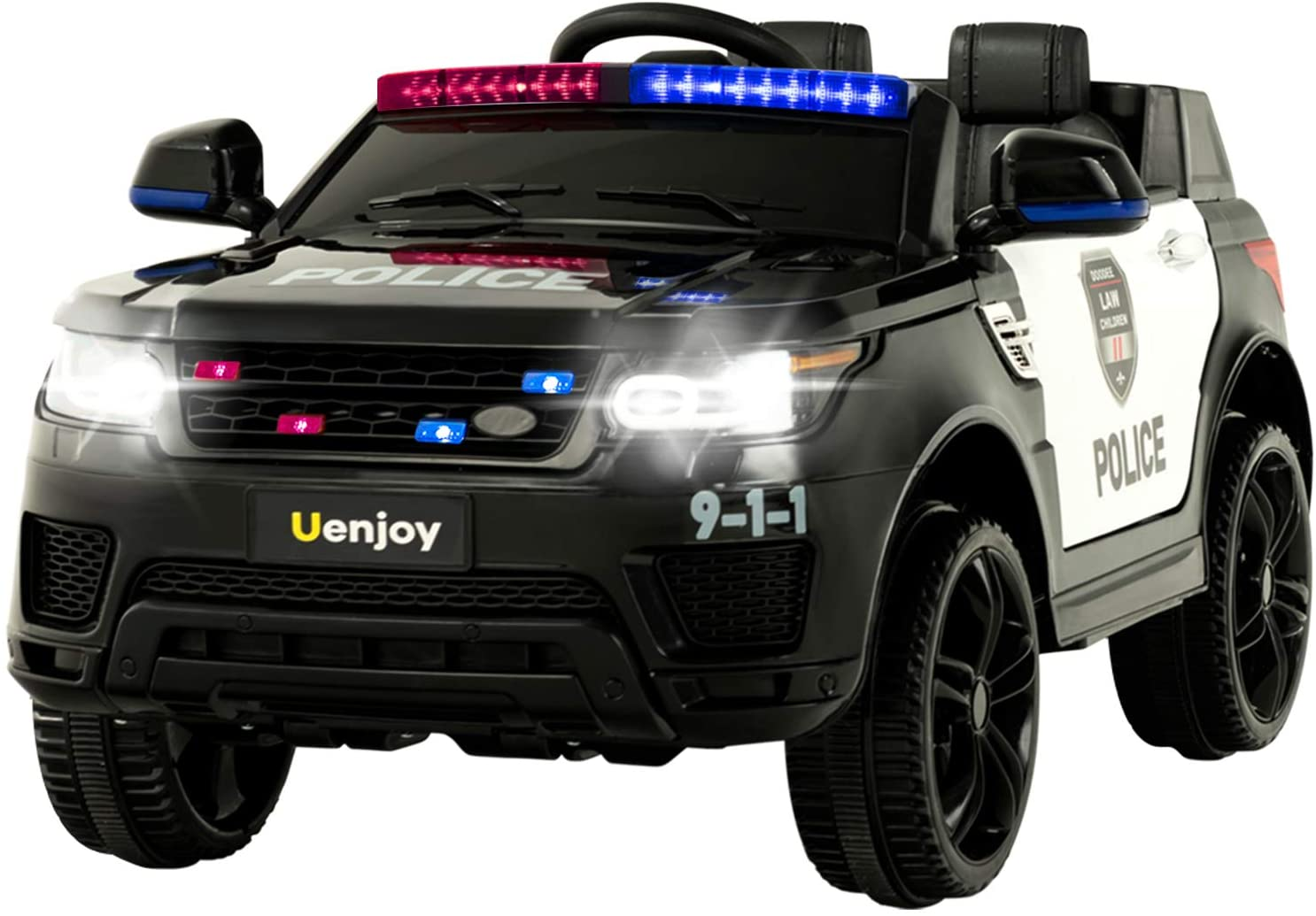 12 Volt Ride on Toy Police Car