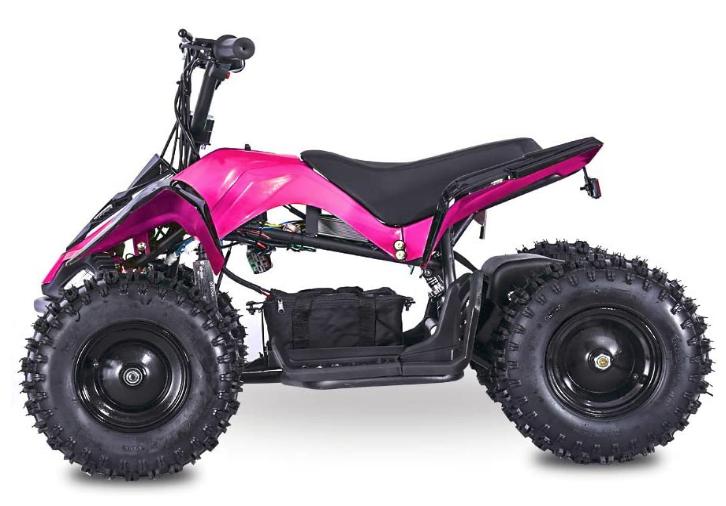 Fit Right 2020 Mars Kids 24V Mini Quad ATV, Dirt Motor Electric Four Wheeler Parental Speed Control