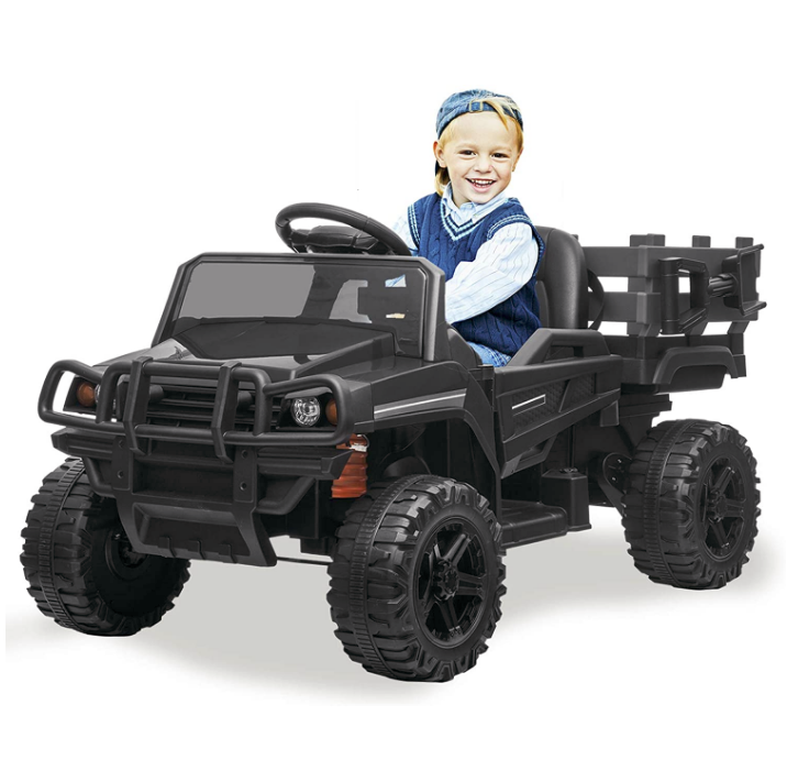 Kidsclub Ride on Utility Tuck with Trailor 12v