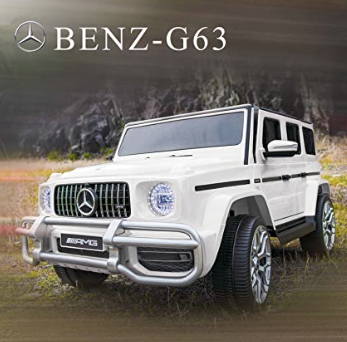 Uenjoy 12V 2 Seats Mercedes Benz G63 Kids Ride On Car Electric Cars Motorized Vehicles with Remote C