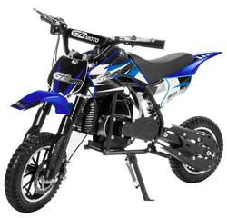 XtremepowerUS 49CC 2-Stroke Gas Power Mini Pocket Dirt Bike Dirt Off Road Motorcycle Ride-on