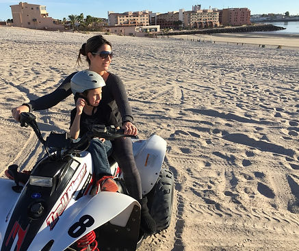 Quad ride in Puerto Penasco Mexico