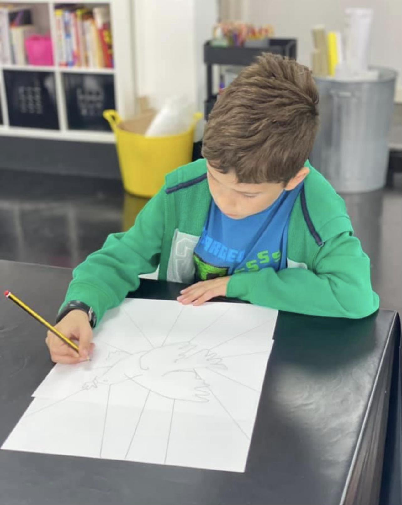 Sketchercise Age 7 upwards