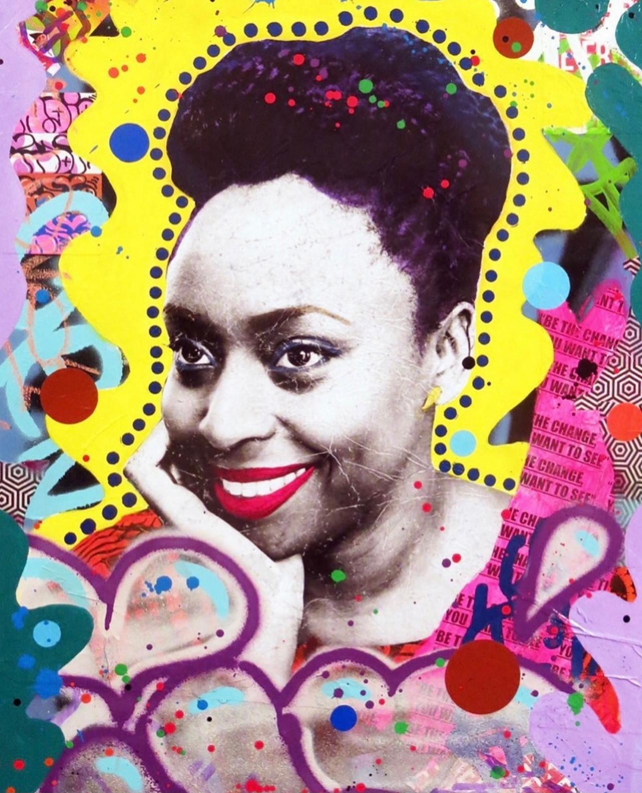 Street Art Portrait Collage - age 11+
