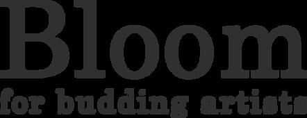 LOGO - Bloom for budding artists.png