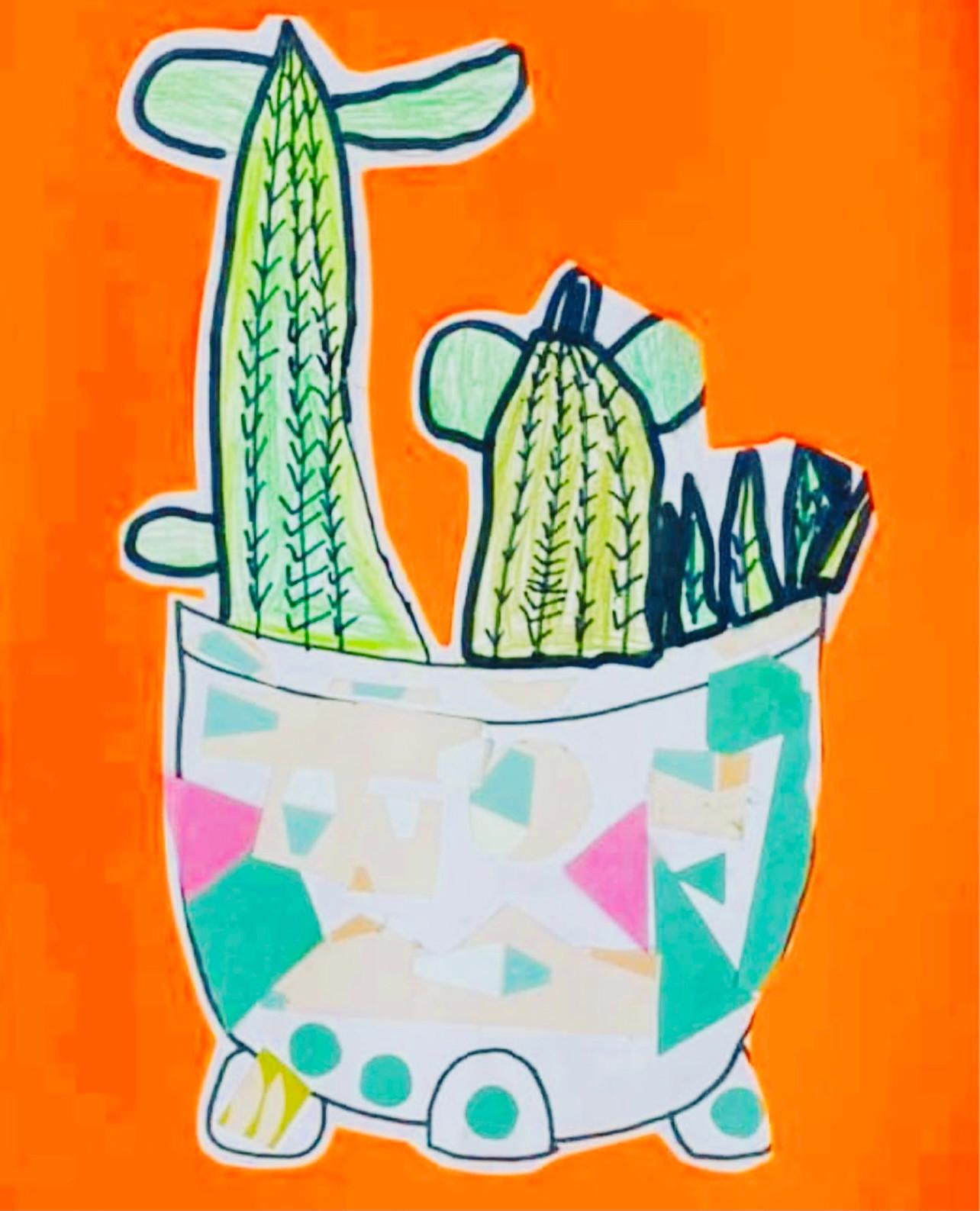 Cactus Teapots - age 6+