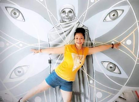 Journey from designer to yoga teacher