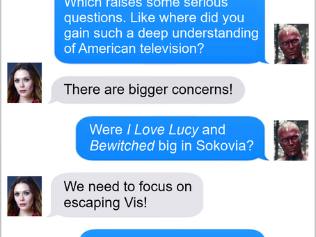 Texts From Superheroes: Asking The Important Questions