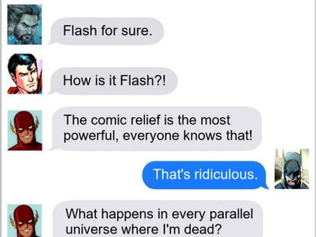 Texts From Superheroes: Leadership Qualities