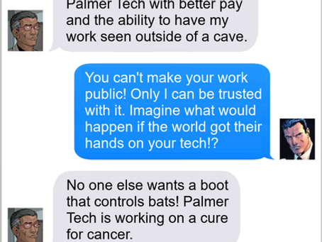 Texts From Superheroes: Job Offer