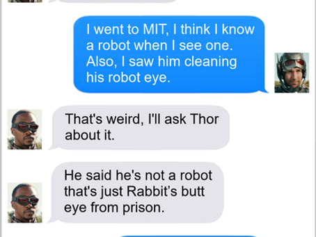 Texts From Superheroes: Don't Ask