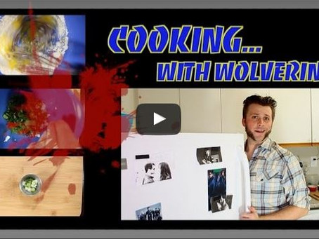 Sketch From Superheroes: Cooking With Wolverine
