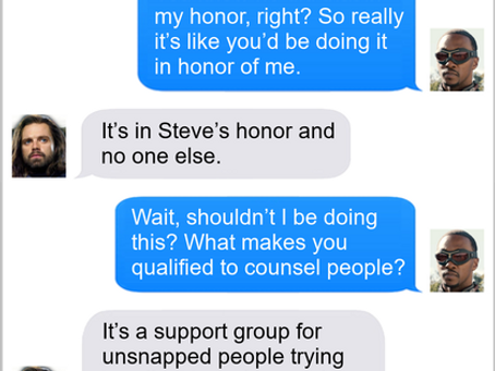 Texts From Superheroes: Over-Qualified