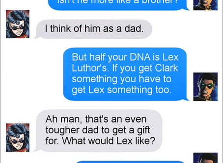Texts From Superheroes: Best of Father's Day