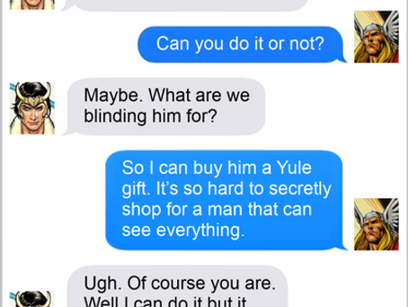 Texts From Superheroes: Thought That Counts