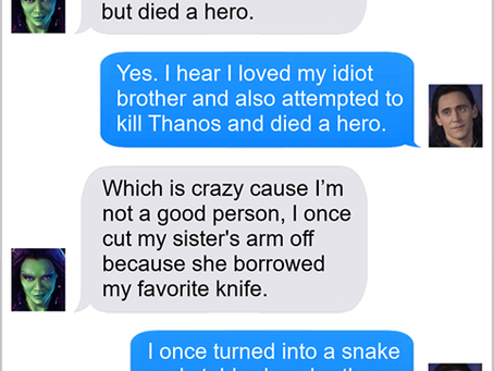 Texts From Superheroes: Doesn't Sound Like Me