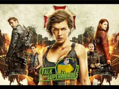 Talk From Superheroes: Resident Evil The Final Chapter