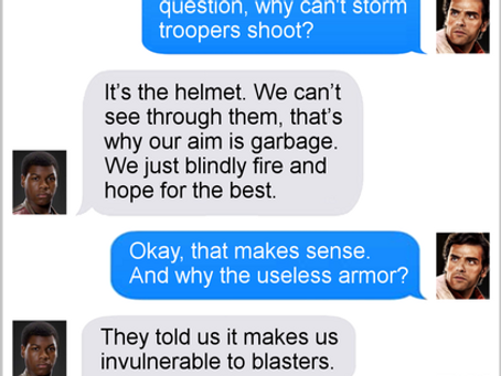 Texts From Superheroes: Space Revelations