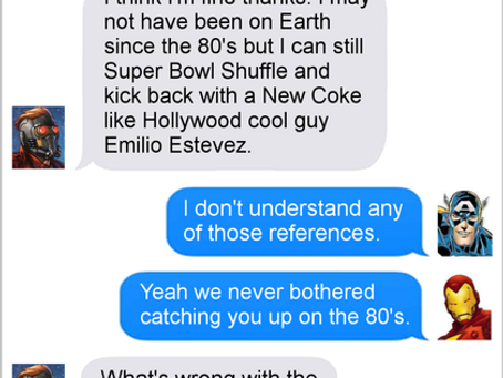 Texts From Superheroes: Reference Library