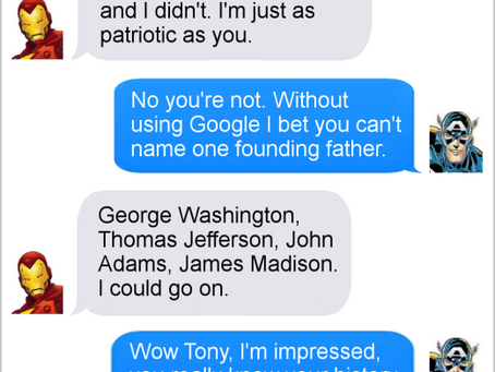 Texts From Superheroes: Best of Independence Day