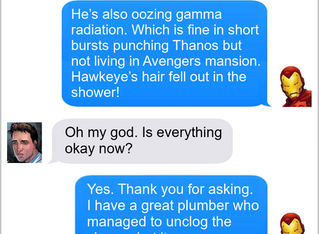 Texts From Superheroes: Priorities
