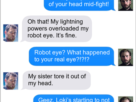 Texts From Superheroes: Eye Of the Beholder