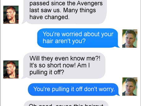 Texts From Superheroes: Hair To The Throne