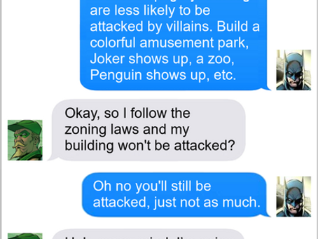 Texts From Superheroes: Not A Selling Point