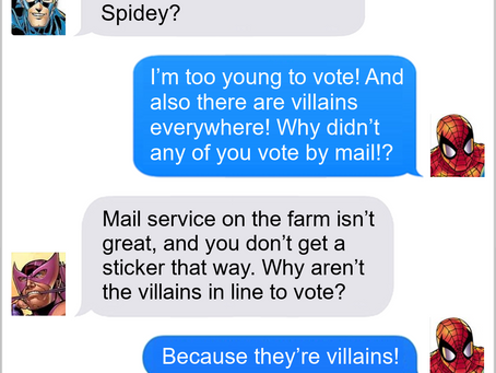 Texts From Superheroes: Big Day