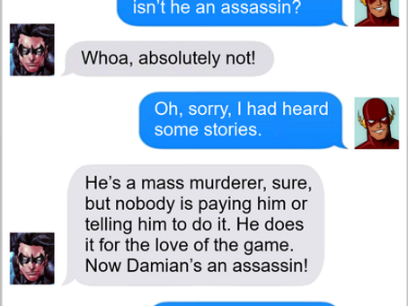 Texts From Superheroes: My Brother's Keeper