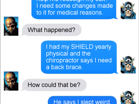 Texts From Superheroes: Back in Action
