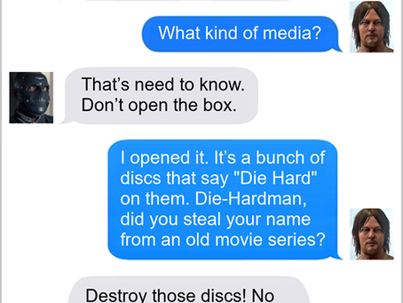 Texts From Superheroes: What's In A Name?