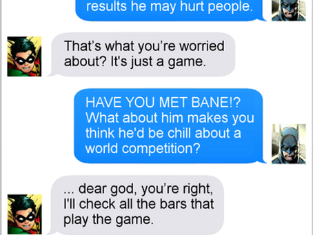 Texts From Superheroes: More Than A Game