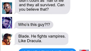 Texts From Superheroes: Checking In