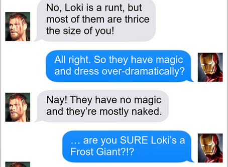 Texts From Superheroes: Breaking The Mold