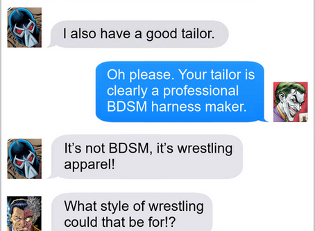 Texts From Superheroes: Looking Good