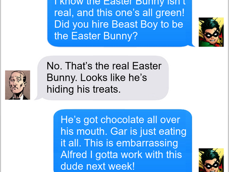 Texts From Superheroes: Beast Bunny
