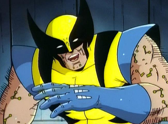 Animated Wolverine Infected With The Legacy Virus