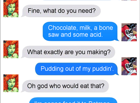Texts From Superheroes: Last Requests