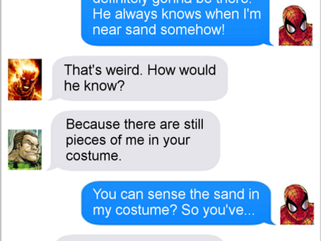 Texts From Superheroes: Vacation