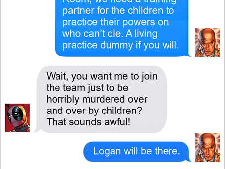 Texts From Superheroes: Job Prospects