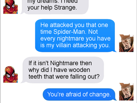 Texts From Superheroes: What Does It All Mean?